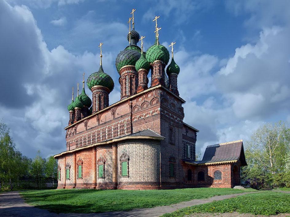 Церковь в Толчково, Ярославль