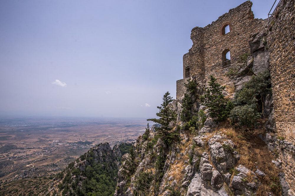 Замок Буффавенто, Кипр