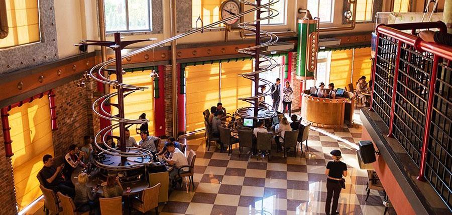Ресторан «Роллер», Сочи Парк