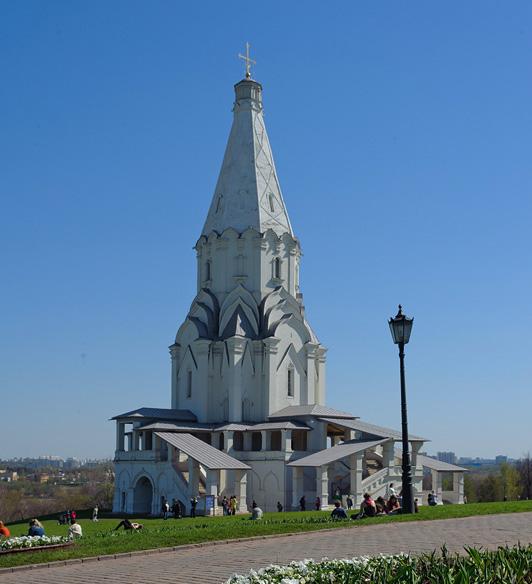 Церковь Вознесения, Музей-Заповедник Коломенское
