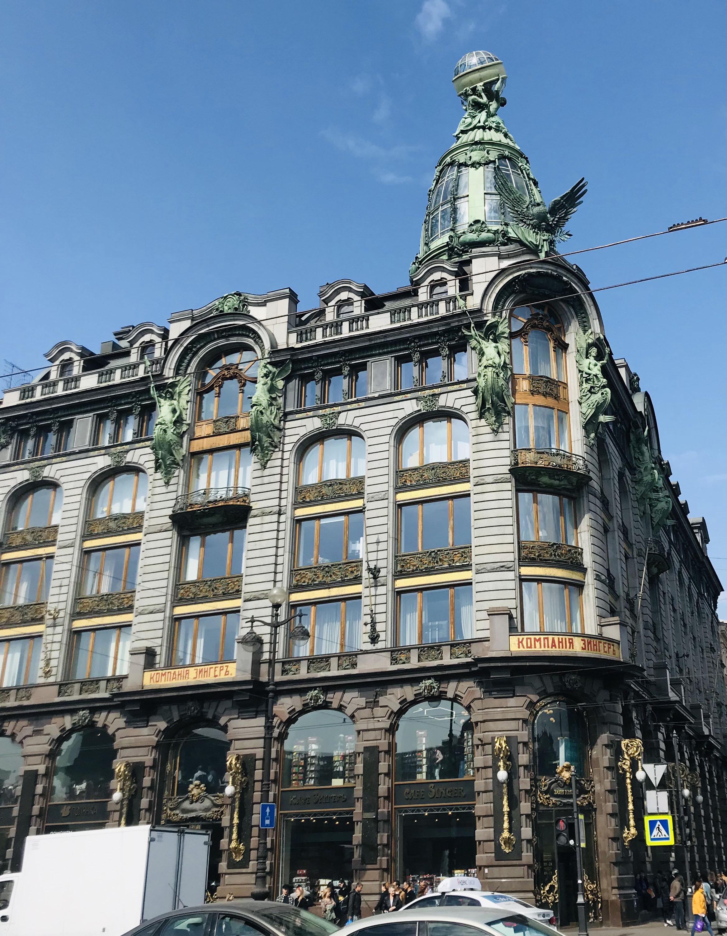 книжный магазин на Невском проспекте