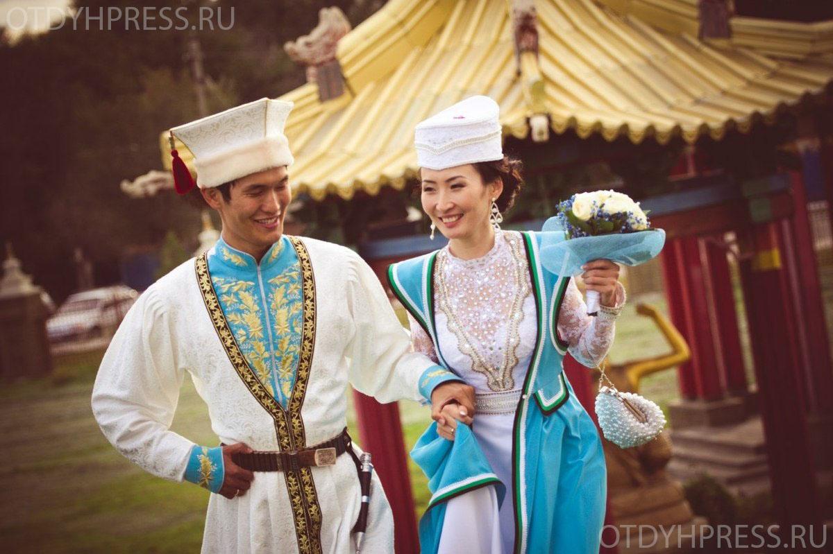 Свадьба в Калмыкии