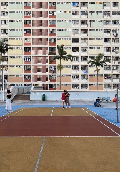 баскетбольная площадка Гонконг