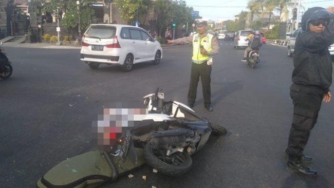 авария на байке Бали