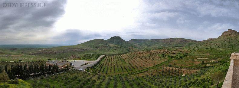 панорама вида с города Мардин