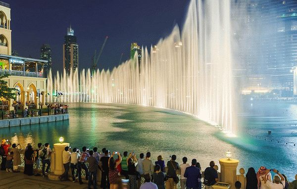 Дубай фонтан музыка портал недвижимости за рубежом