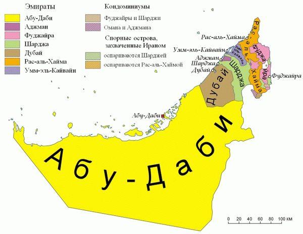 Дубай на карте мира на русском мадрид недвижимость цены