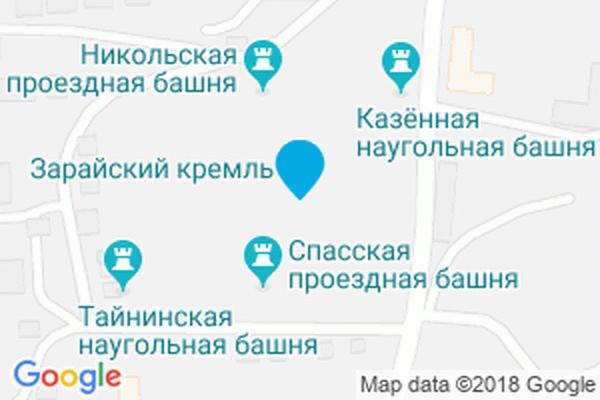 Город Зарайск и его главные достопримечательности с описанием и фото